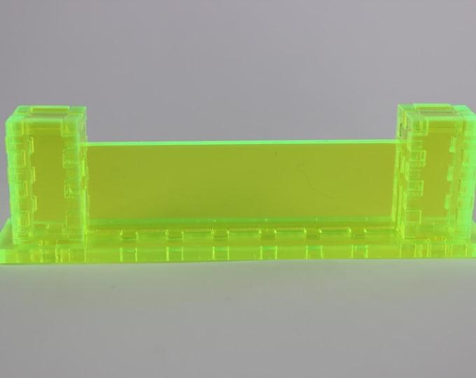 Neon Green - War Machine 3d Wall Kit