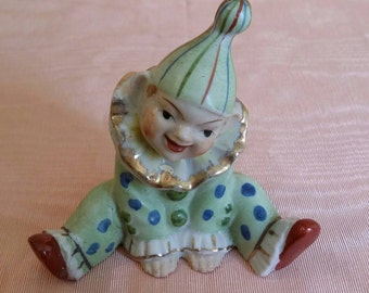 Vintage whimsical little clown... made in Japan