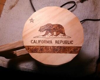Moderate Wood Burning Art