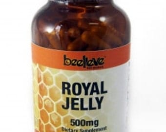 Royal Jelly Capsules 500mg (180caps)