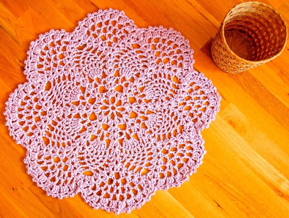 41 Crochet Rug Patterns - The Funky Stitch