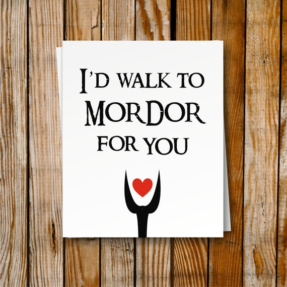Lord Of The Rings Valentines Ideas