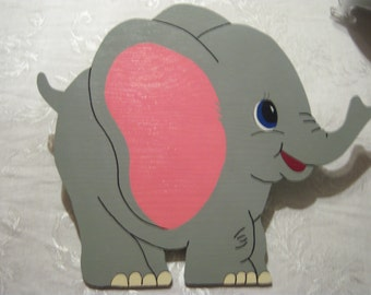 Wooden Elephant wall decoration