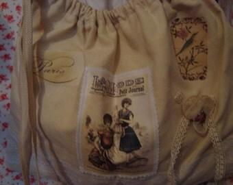 A lingerie bag
