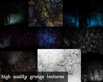 Grunge Textures...  high quality grunge/space styled textures... also includes some black and white textures as well.