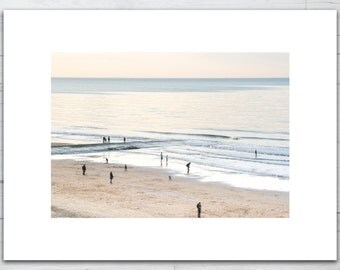 Direct print on brushed aluminum dibond - Smalls on the beach - Limited edition