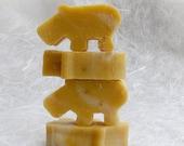 BABY Hippo Soap, All Natural, Vegan, Handmade soap, Baby Soap, Body Soap, Calendula Soap