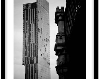 The Beetham Tower, Manchester.  Photograph is printed in 308gsm Hahnemuhle fine art paper (Unmatted)