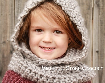 Toddler hooded cowl (2t-4t)