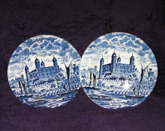 Vintage, Enoch Wedgwood, Royal Homes of Britain, 'Tower of London'. Collectable.
