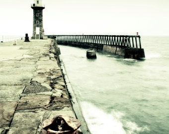 Whitby Jetty and Lighthouse