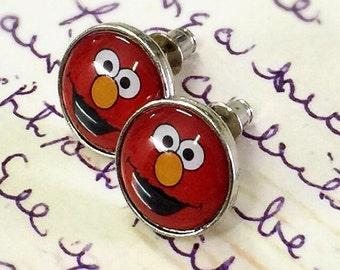 Elmo Sesame Street earring