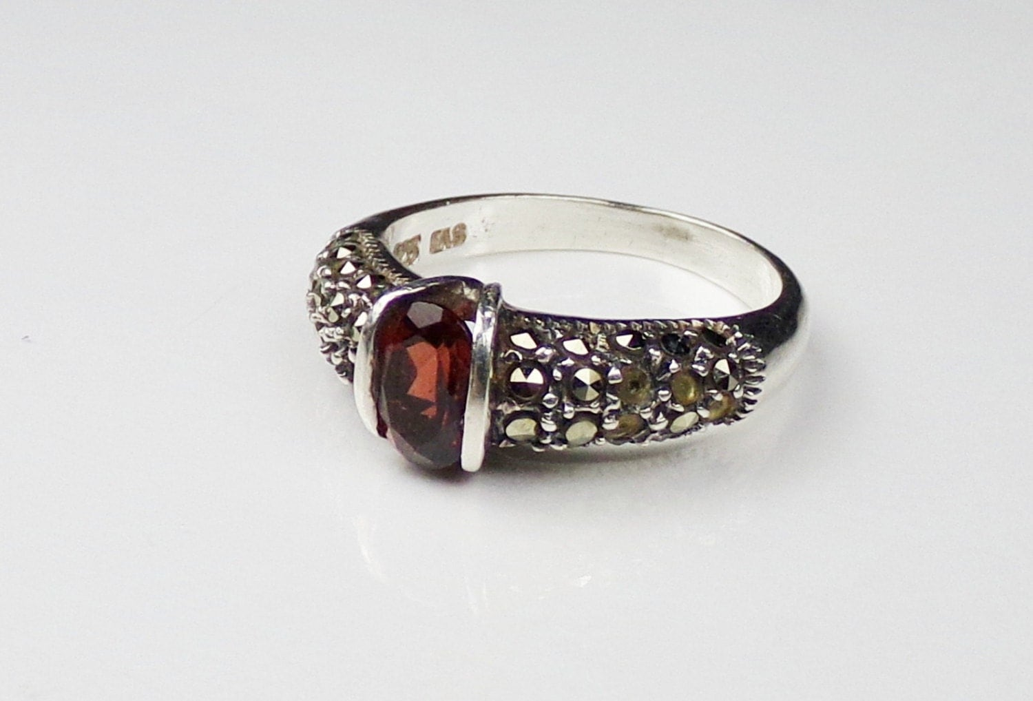 Garnet ring etsy images for Garnet wedding ring meaning
