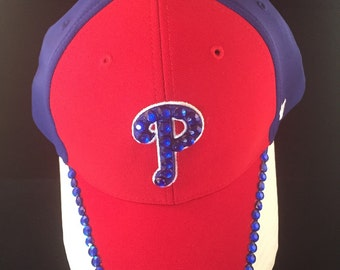 Phillies blinged hat