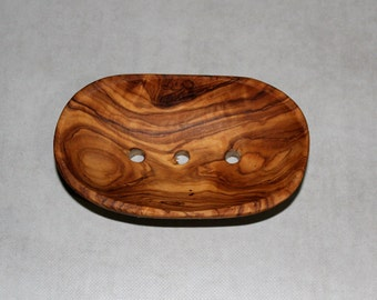 FREE SHIPPING, Wooden Soap Dish / Carry Soap - Model 02 - Oval