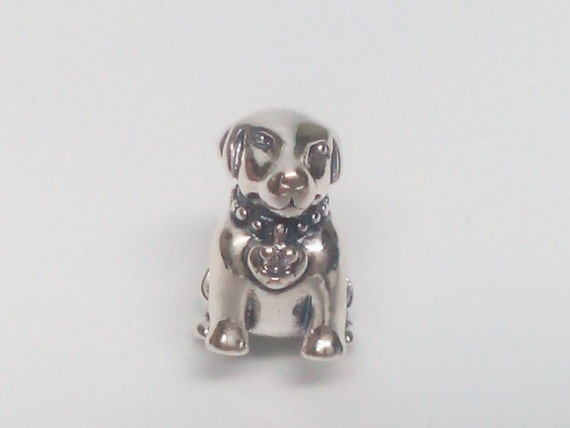 new authentic pandora 925 ale labrador 791379cz bead charm
