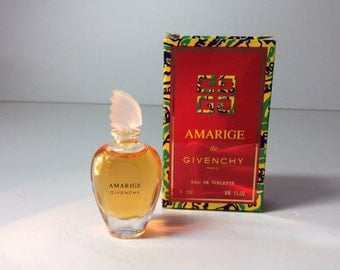 "Perfume mini ""AMARIGE"" by Givenchy. Made in France."