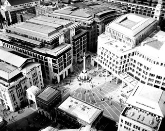 View From St. Paul's Cathedral - London Canvas, Metal, or Fine Art Print 8x10 or 16x20
