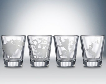 Game Of Thrones Shot Glass Set