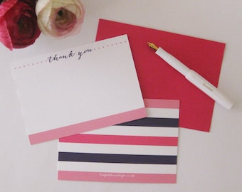 Thank You - Notecard Set of 8