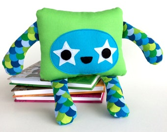 Cute Monster Softie, Friendly Plushie Monster