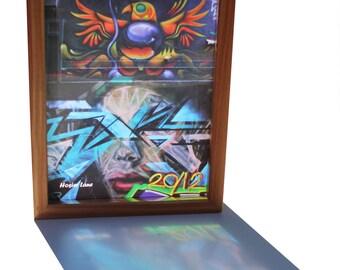 """Hosier Lane Melbourne Street Art Lightbox """"2012"""""""