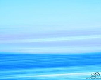 Fine Art Ocean Photo - Photograph of Ocean, Motion Blur Fine Art