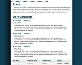 Custom resume writing words