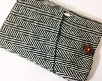 "Herringbone 15 inch Laptop Case,14"" to 15.6"" Laptop Sleeve 15"" MacBook Pro Retina Display Case Cover"