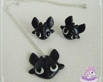 Toothless jewelry set
