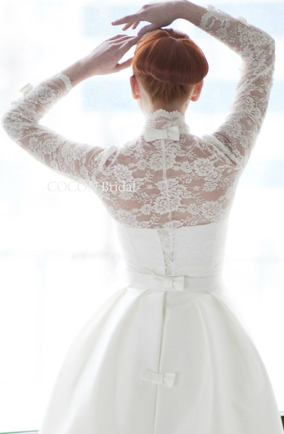 Wedding dress designer wedding dress gown gown with bolero for Designer bolero