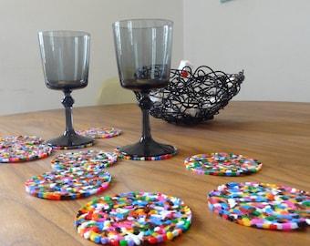 design coaster set 6 pieces by freigeist