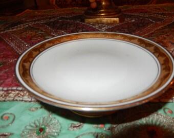 FRANCE GDA PORCELAIN Pedestal Plate