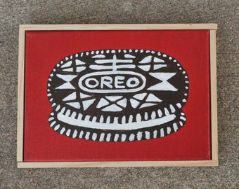 Nabisco Oreo Painting - Folk Art