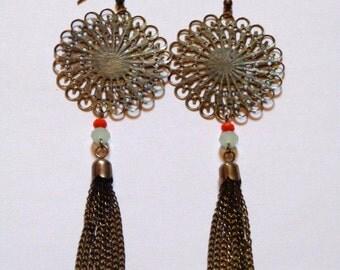 """Earrings """"Belle époque"""""""