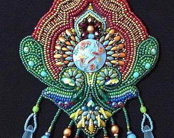Bead Embroidery Kit: Birds of Paradise