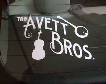 REDUCED!!! The Avett Bros Vinyl Decal