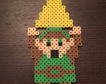 Perler Link with Triforce