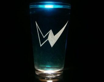 Kamen Rider Double Pint Glass