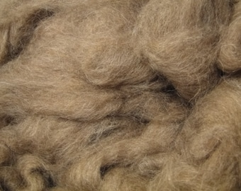 Icelandic wool roving is easy to spin