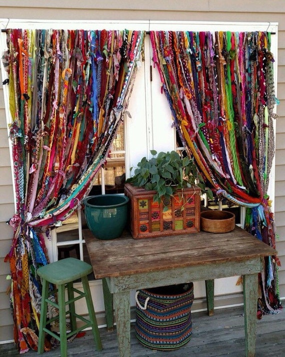 Boho Handmade Curtains