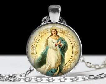 Religious Jewelry Pendant Wearable Art Religious Necklace  Pendant Charm