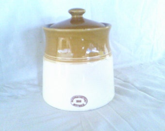 Bendigo Pottery 1858 series Tapered Canister
