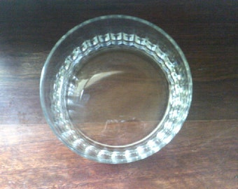 Bowl Crystal Glass Italian Trifle / Salad Bowl