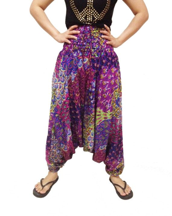High Cut Harem Pants in various cuts & colors for Men & Women. Free International Shipping for all orders over $
