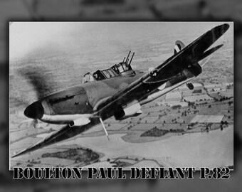 24x36 Poster; Boulton Paul Defiant P.82