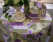 Lavender Tea Rose Afternoon Tea Linens Collection
