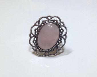Ring Rose Quartz Soft