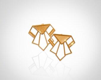 Golden earrings Paul Alkalene