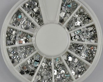 Crystal Design Stone Wheel